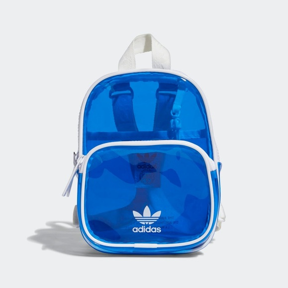Adidas Mini Clear Transparent Backpack